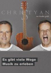 Plakat Christyan Livemusik